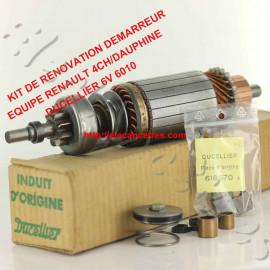 Induit démarreur DUCELLIER (kit de rénovation) pour RENAULT