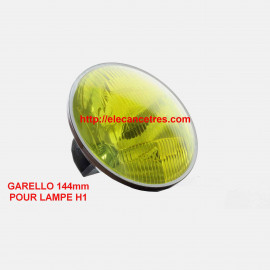 Optique CARELLO H1 jaune standard
