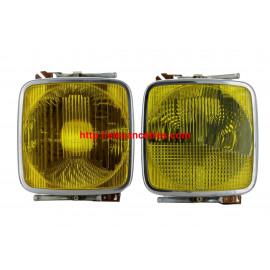 Optique CARELLO H1 jaune pour FIAT 125