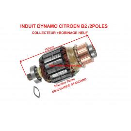 Induit dynamo pour CITROEN B2 6V