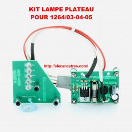Pour banc d'allumeur SOURIAU 1264-03/04/05 Kit de lampe de rechange