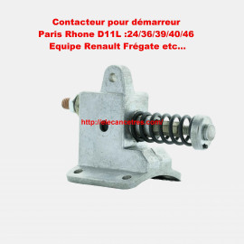 Contacteur PARIS RHONE pour démarreur RENAULT
