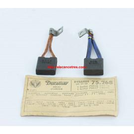 Balais Charbons DUCELLIER 75268 pour dynamo