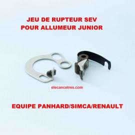 Rupteur / Vis platinées SEV 908105 pour allumeur type Junior