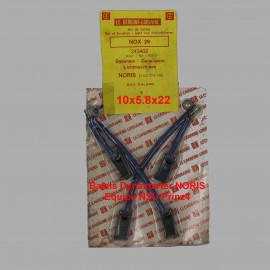 Balais Charbons BOSCH 1 027 014 106 pour dynastart
