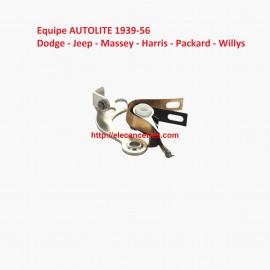 Rupteur / Vis platinées AUTOLITE 9-224