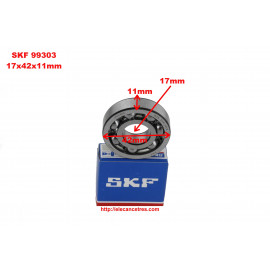 Roulement 17x42x11 - SKF 99303