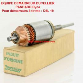 Induit démarreur PARIS RHONE 58119