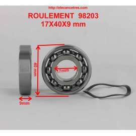 Roulement 17x40x9 - SKF 98203