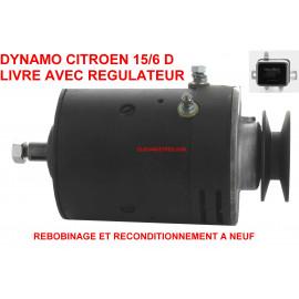 Dynamo 6V pour CITROEN Traction 15 six
