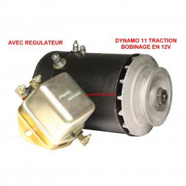 Dynamo pour CITROEN Traction 11 standart 12V