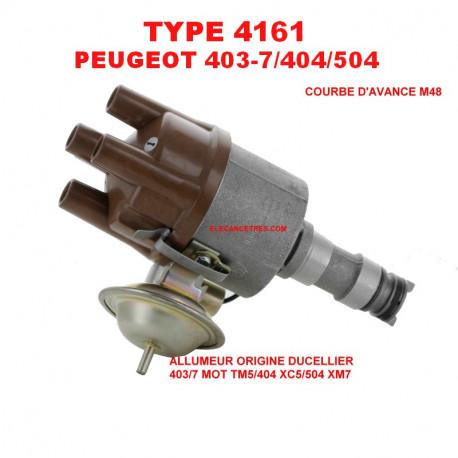 Allumeur DUCELLIER 4161 pour PEUGEOT