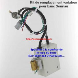 Pour banc d'allumeur SOURIAU 1263/1264 - Kit d'échange du variateur de vitesse