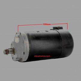Dynamo LUCAS AT125 12V pour BSA/NORTON/TRIUMPH