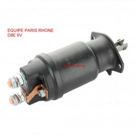 Contacteur PARIS RHONE 53825 CED 41/42/407 6V pour démarreur RENAULT