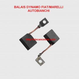 Balais Charbons FIAT 4110852 pour dynamo