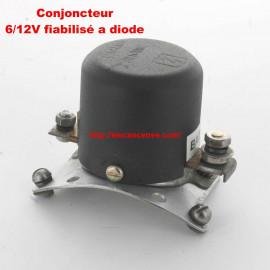 Conjoncteur dynamo PARIS RHONE 6V/12V à 3 balais