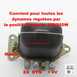 Régulateur / Disjoncteur standard 6V 200W