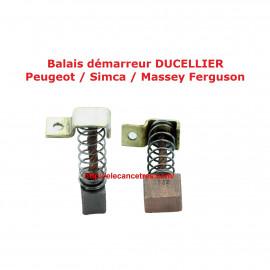 Balais Charbons DUCELLIER 75213 pour démarreur