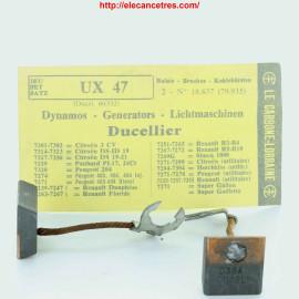 Balais Charbons DUCELLIER 60532 pour dynamo