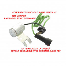 Condensateur allumeur BOSCH 1 237 330 150