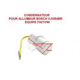 Condensateur allumeur BOSCH 1 237 330 055
