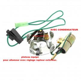 Kit Allumeur DUCELLIER : condensateur - plateau complet - rupteur