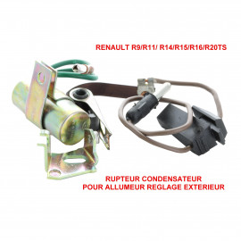 Kit Allumeur DUCELLIER : condensateur - rupteur