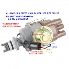 Allumeur DUCELLIER 525217 pour TALBOT